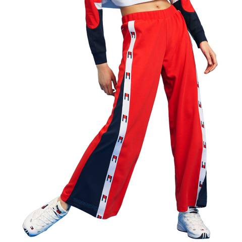 Tommy Hilfiger Red Flag Tape  Pant Flare