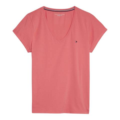 Tommy Hilfiger Rose of Sharon VN TEE SS