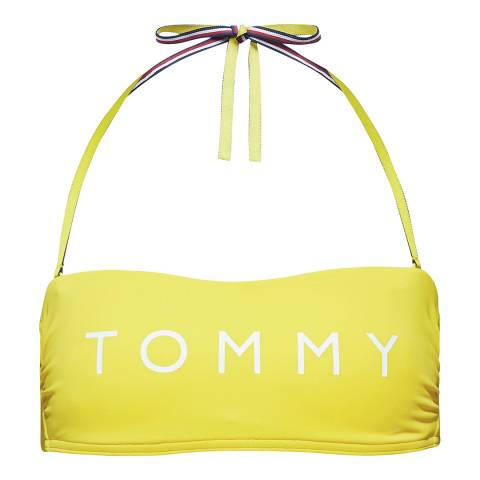Tommy Hilfiger Empire Yellow BANDEAU RP
