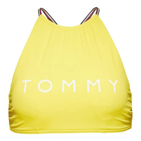 Tommy Hilfiger Empire Yellow CROP TOP RP