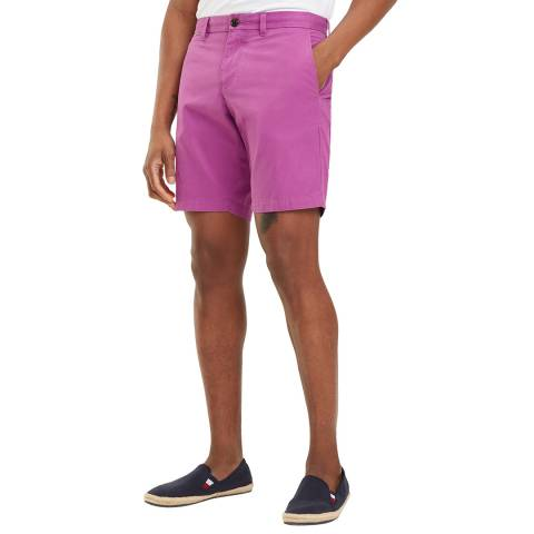 Tommy Hilfiger Mauve Brooklyn Cotton Shorts