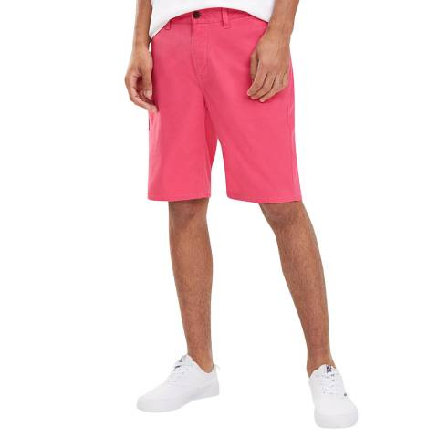 Tommy Hilfiger Pink Essential Chino Shorts