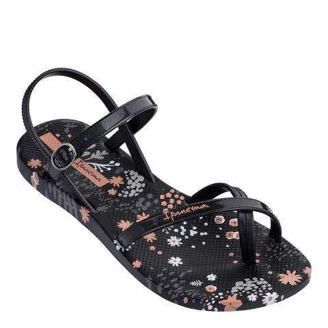 Ipanema Fashion Sandal 21 Black Flower