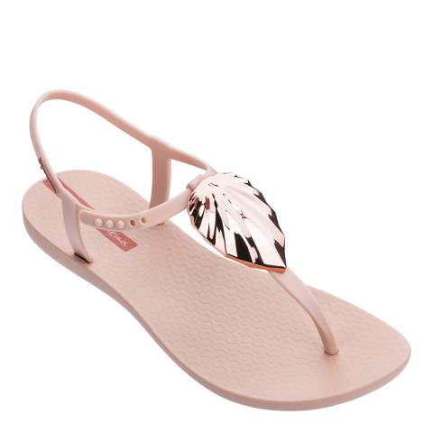 Ipanema Leaf Sandal Shine Blush