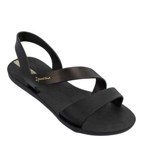 Ipanema Black Matt Vibe 21 Sandals