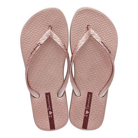 Ipanema Rose Glam 21 Flip Flops