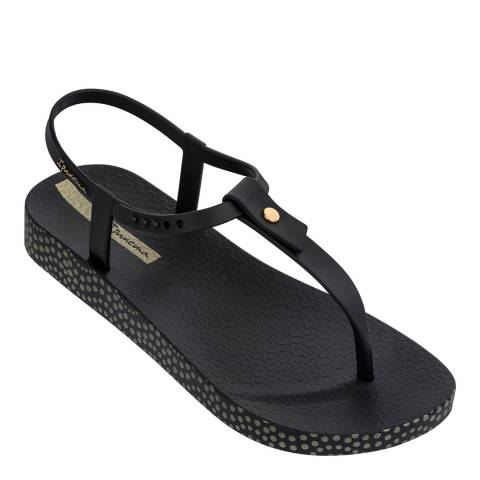Ipanema Black Bossa Soft Sandals