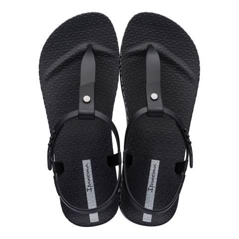 Ipanema Black Bossa Soft Sandals