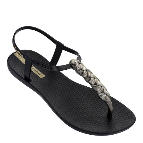 Ipanema Charm Sandal 21 Black Braid