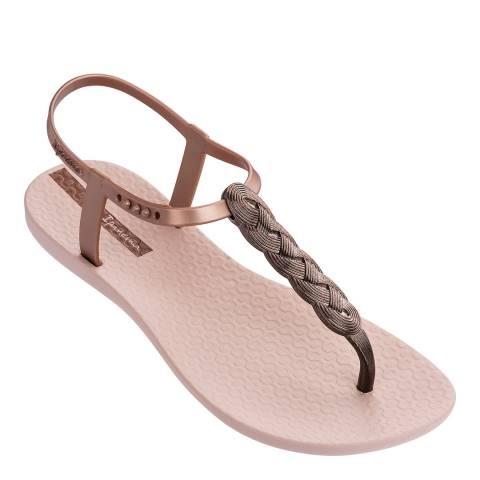 Ipanema Blush Braid Charm 21 Sandals