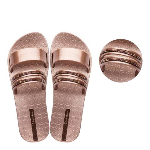 Ipanema Glam Slide Crystal Rose