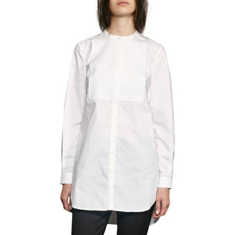 French Connection White Smithson Cotton Shirt