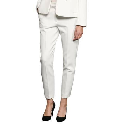 French Connection White Sundae Suting Trousers