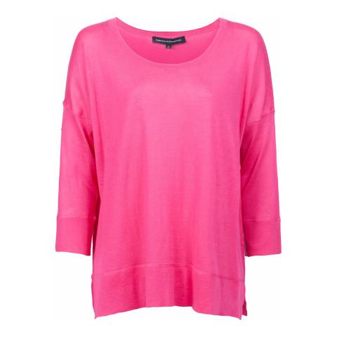 French Connection Pink Spring Light Knitted Jumper