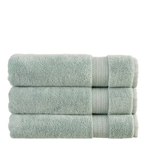Christy Tempo Set of 12 Face Cloths, Mineral