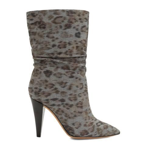 IRO Natural Leopard Print Savanah Boot
