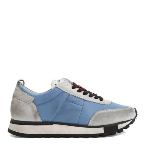IRO Grey Blue Suede Vintager Sneakers