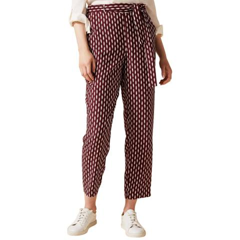 Phase Eight Red Abby- Jayne Trousers