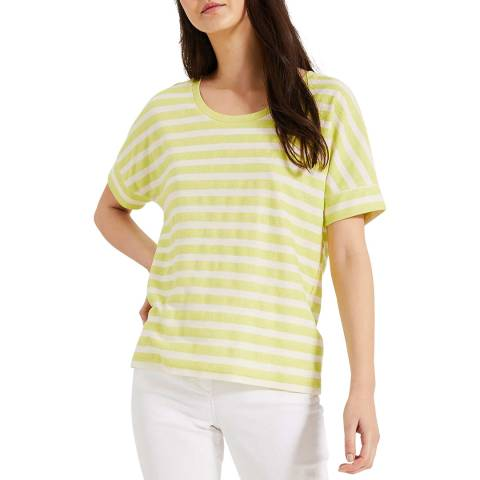 Phase Eight Lime Stripe Kitty T-Shirt