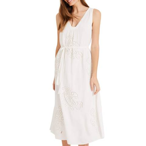 Phase Eight White Esmae-Rose Dress