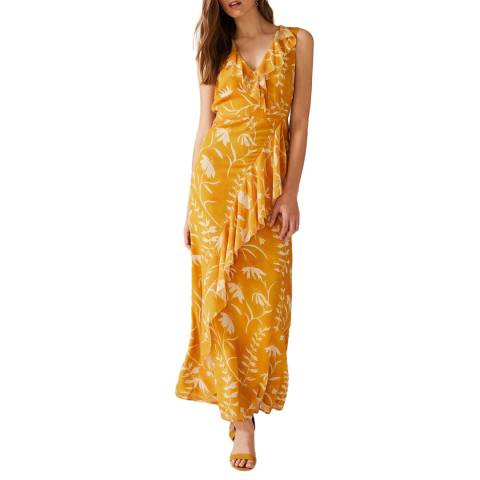 Phase Eight Orange Palm Natala Dress