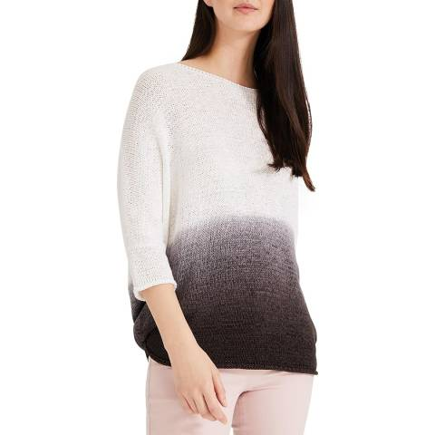 Phase Eight Grey DipDye Aideen Knit Top