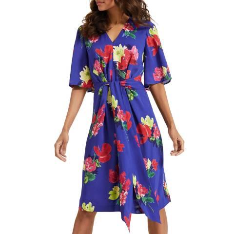 Phase Eight Blue Darcy Kimono Dress