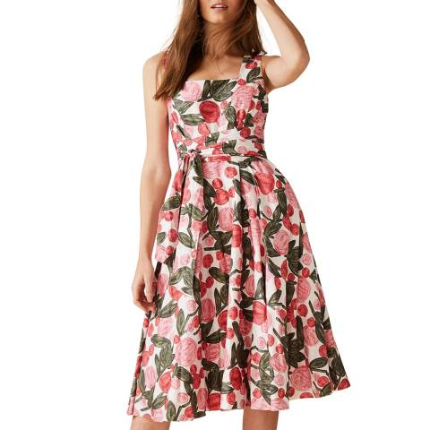 Phase Eight Pink Floral Patsy Dress