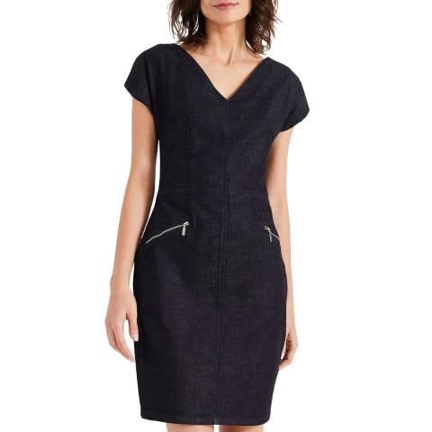 Phase Eight Dark Denim Delmar Dress