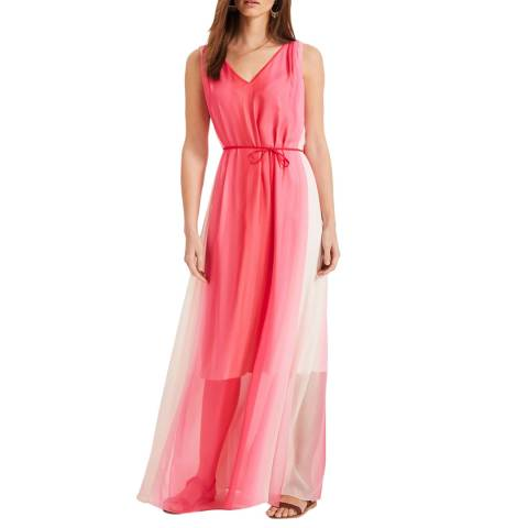 Phase Eight Pink Dip Dye Maxi Dress