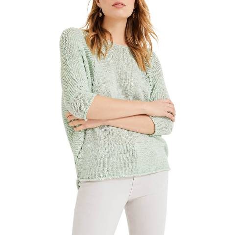 Phase Eight Green Aideen Tape Jumper