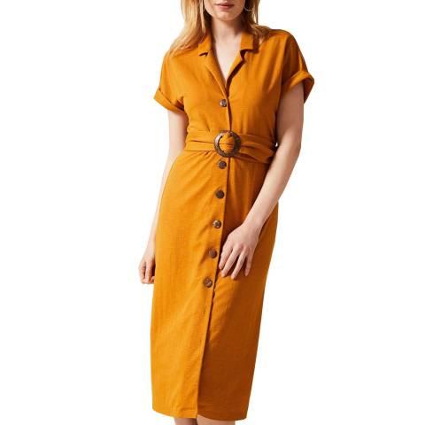 Phase Eight Rust Jamelia Shirt Dress