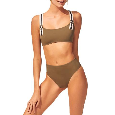 Solid & Striped The Olive Evelyn Colorblocked Top