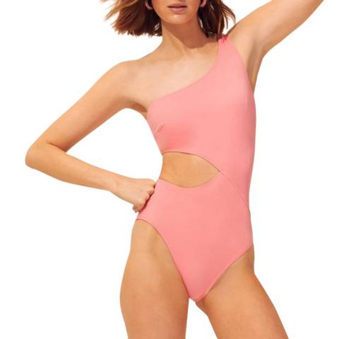 Solid & Striped The Claudia Flamingo Swimsuit