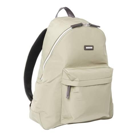 Hackett London Beige Ledbury Backpack