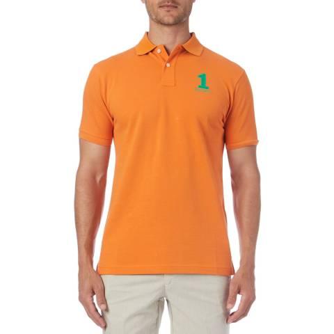 Hackett London Orange New Classic Polo Shirt
