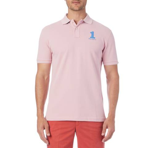 Hackett London Pink New Classic Polo Shirt
