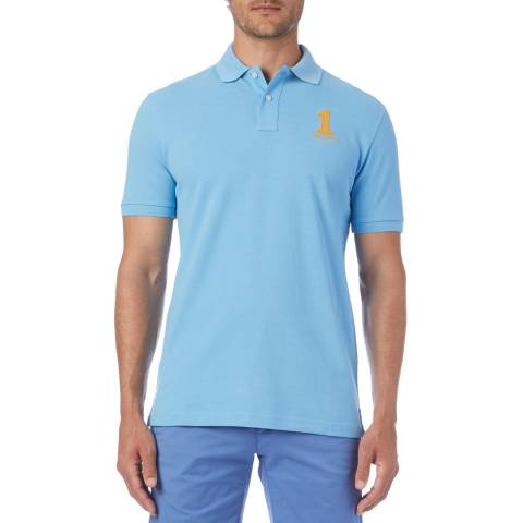 Hackett London Blue New Classic Polo Shirt