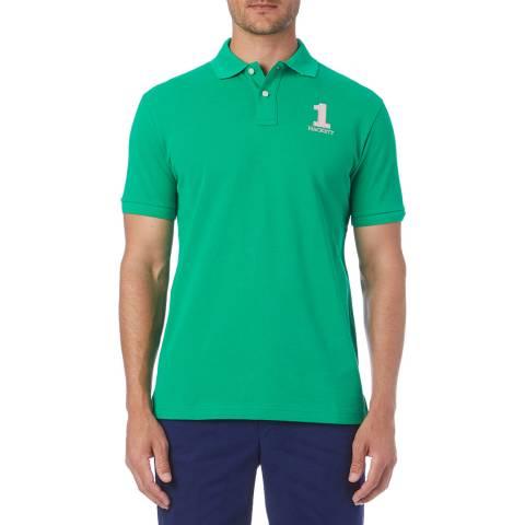 Hackett London Green New Classic Polo Shirt