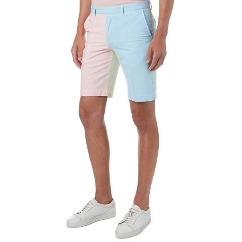 Hackett London Multi Colour Block Shorts