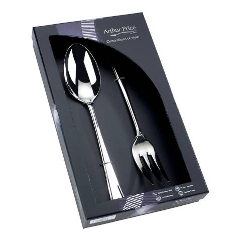 Arthur Price 2 Piece Harley Large Serving Spoon and Fork Set