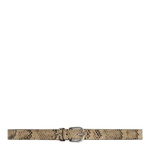 IRO Beige Snake Majun Belt