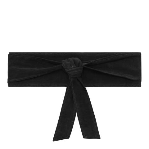 IRO Black Simply Belt