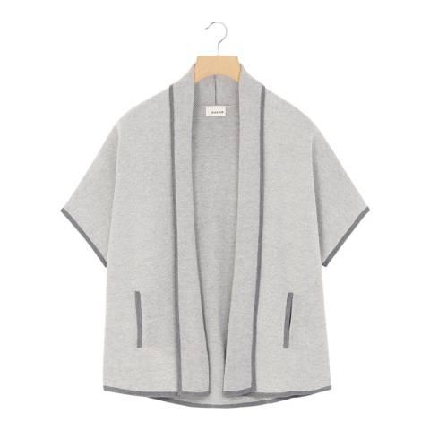 Rodier Light Grey Cashmere Blend Jacket