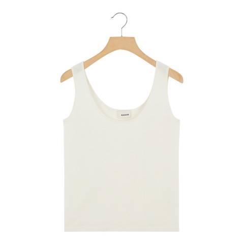 Rodier Cream Wool Blend Vest