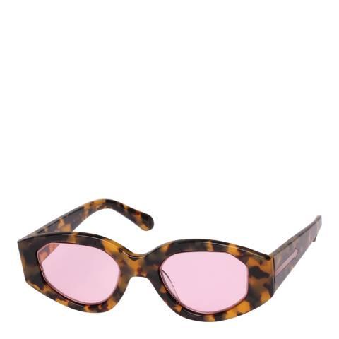 Karen Walker Tortoiseshell Castaway Sunglasses