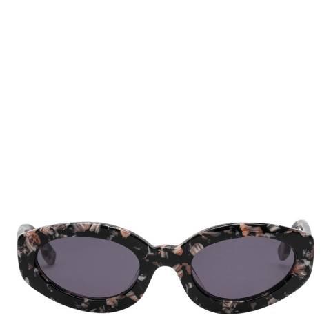 LeSpecs Luxe Black Rose Amour Sunglasses