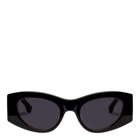 LeSpecs Luxe Black Extempore Sunglasses