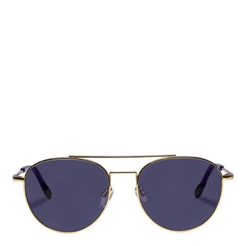 LeSpecs Bright Gold Savage Sunglasses