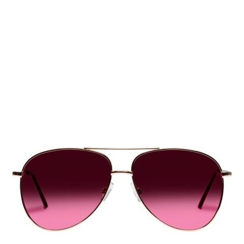 Mink Pink Rose Gold Joy Ride Sunglasses